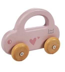 Kleine auto Roze
