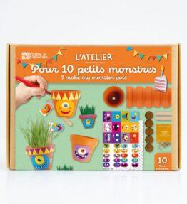 Verjaardagsbox - 10 kleine monsterpotjes