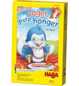 Kleine vogel grote honger