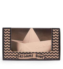 Bad speeltje boot pastel nude - natuurlijk rubber