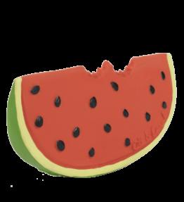 Bad en bijtspeeltje meloen - natuurlijk rubber