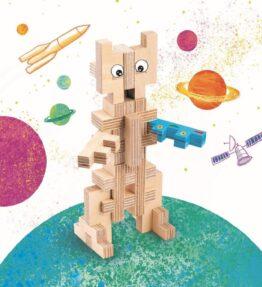 Cloze 20-delige robot- creatieve set