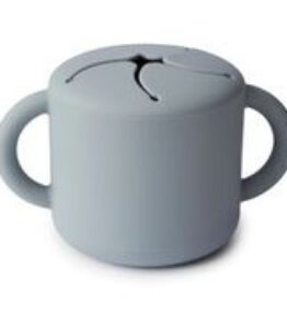 Mushie Snack Cup Siliconen - Stone