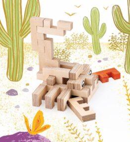 Creatieve set hout - schorpioen