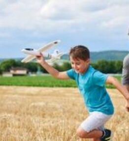 Terra Kids -Werpvliegtuig