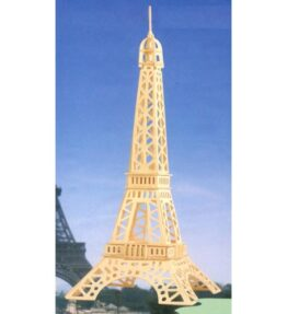 Bouwpakket hout gebouw - Eiffeltoren