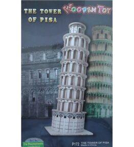 Bouwpakket hout gebouw - Toren van Pisa