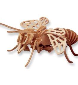 Bouwpakket hout dier - Hommel/ Bij