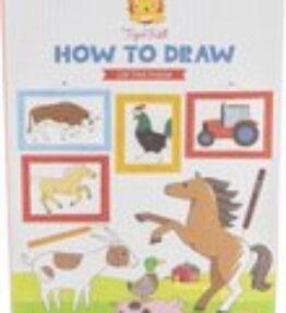 How to draw boerderijdieren