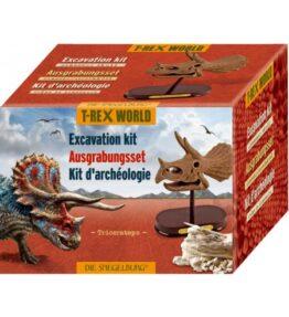 Dino uitgraafset - Triceratops schedel