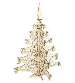 Bouwpakket hout - Kerstboom
