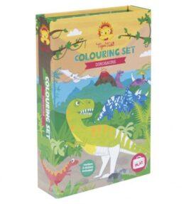 Kleurset Dinosaurus